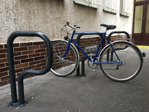 Új kerékpártárolók Révkomáromban