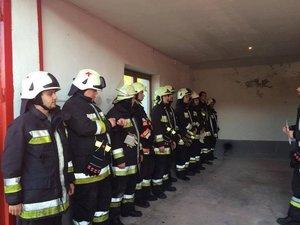 Katasztrófavédelmi gyakorlatot tartottak önkéntes tűzoltóink