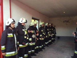 Önkéntes tűzoltóink megyei gyakorlaton