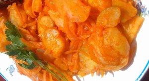 Kesztölci receptek - hagymás krumplisaláta