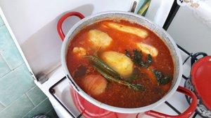 Kesztölci receptek - füstölt húsos leves