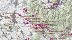Hét érdekes térkép a Pilisről