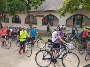 Kerékpáros vándortábor Kesztölcön