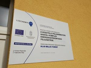 A kesztölci Polgármesteri Hivatal komplex energiahatékonysági fejlesztése