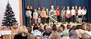 Az iskolások is készülnek a karácsonyra