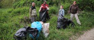 Jó hangulatban telt a hulladékgyűjtés
