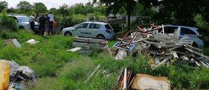 Illegális hulladék: Kesztölc határában megerősített járőrözés