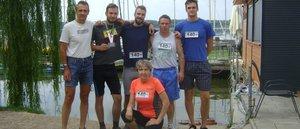 Másodikként értek célba a kesztölci maratonfutók