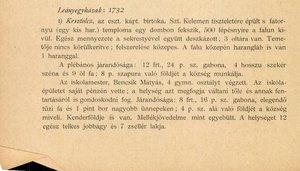 1732 - egyházi összeírás