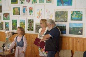 Tóth Tibor festőtáborának kiállítása