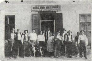 Minczér Menyhért vendéglője az I. világháború után