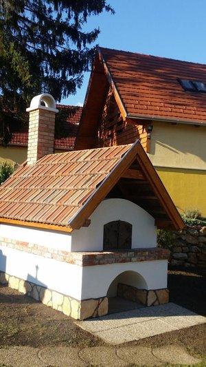Gyönyörű falukemencét építettek Szántón