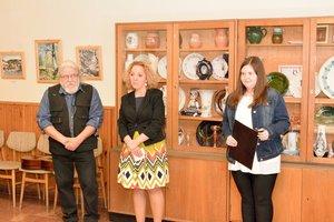 Tóth Tibor kiállításának megnyitója