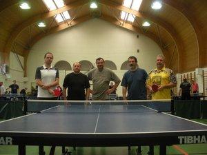 Kesztölc csapata a megyei asztalitenisz bajnokságon