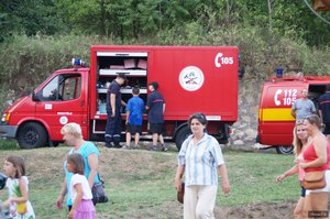 Az önkéntes tűzoltóink látványos bemutatókat tartottak