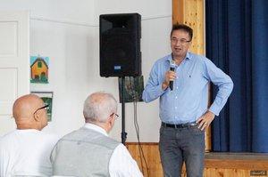 Dr. Völner Pál országgyűlési képviselő a résztvevőket köszöntötte