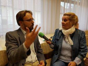 Marek Viktor 1956 előzményeiről, és a megtorlásról beszélt.