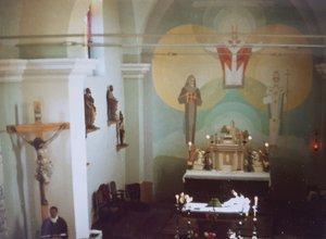 Az oltár a nyolcvanas években