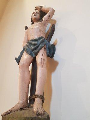 Szent Sebestyén szobra