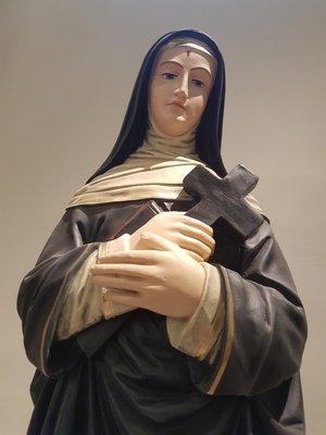 Szent Rita szobra