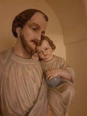 Szent József a Kisdeddel.