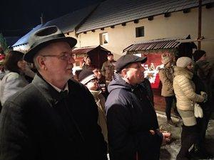 Vöröskői István polgármester és Kochnyák Sándor