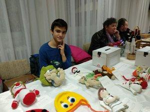 A fiatalok Jelencsics Gabi kedves bábjaival jöttek