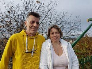 Kara Antal és felesége, Szilvia