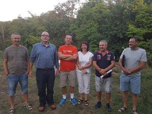 Kesztölc SE: Kara Szilvia az új elnökség tagjaival