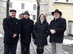 Simonek Antal, Kochnyák Sándor, Radovics Istvánné és Vöröskői István