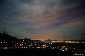 Hamarosan, a Csillagösvény kanyarulatánál már fantasztikus kilátás tárul elénk.