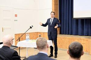 Dr. Völner Pál, térségünk országgyűlési képviselője