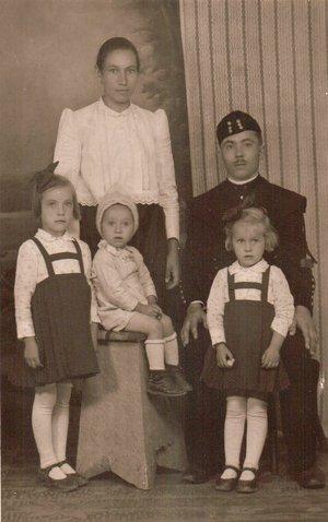 Kara János családja - 1940