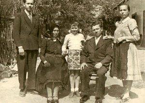 Kara János családja 1954