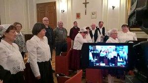 A résztvevők együtt énekelték el a Pilisi Himnuszt