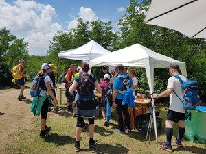 A túrázók több száz lájkkal köszönték meg a kesztölci frissítést