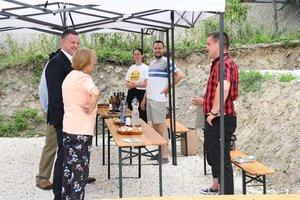 Radovics Istvánné alpolgármester bemutatta a kesztölci vállalkozókat