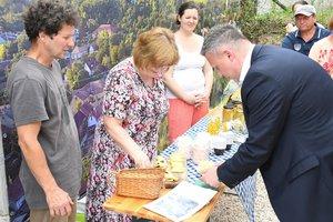Héjja Ágiék házi orda sajtjával kapcsolatban erdélyi emlékeket idézett fel Győrffy Balázs