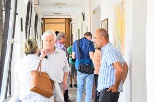 A vendégek az Erdészház Turistaszállóban