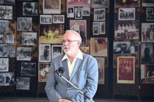 Vöröskői István polgármester üdvözli a résztvevőket