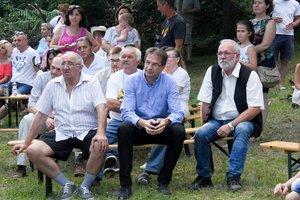 Valovics László, Simonek Antal, Dr. Völner Pál és Vöröskői István