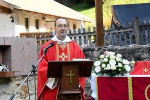 Csóka János tartományfőnök atya prédikációja