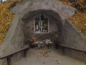 Mélyúti Mária-kegyhely, Kesztölc