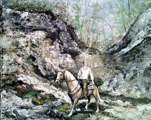 Holt-hegy Ausztria (40x50 olaj)