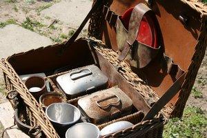 Francia piknik készlet